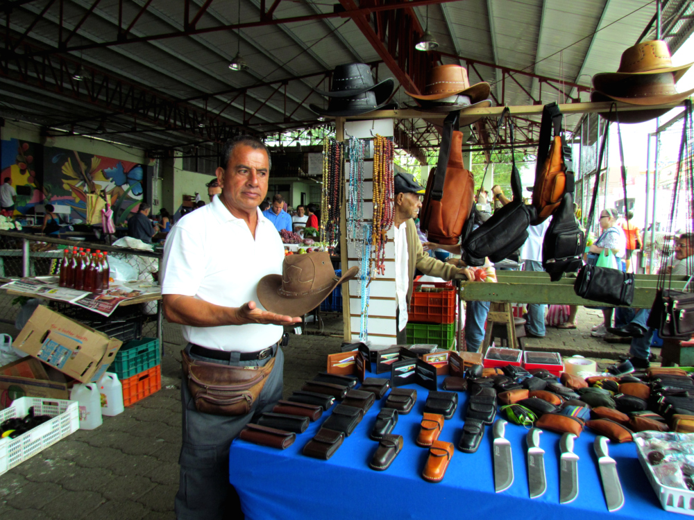 Carlos is Colombian but he has lived in Costa Rica for many years
