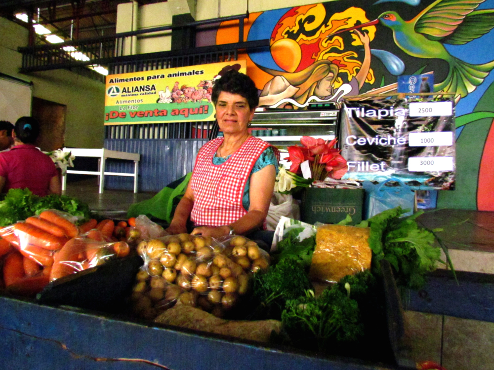 María Eugenia has come to this market for more than 20 years