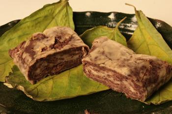 tamales de frijol, tamales de puré de papa, palmito asado, mazamorra, y como se mencionó previamente, sopa de bacalao.