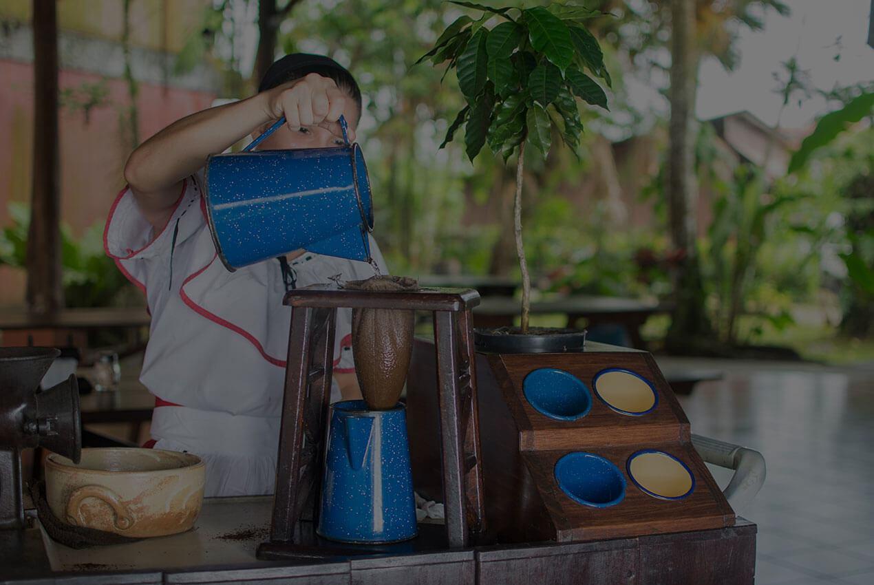 Tradicional Café chorreado