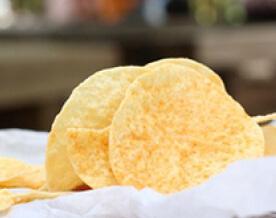 Chips de fruta de Pan