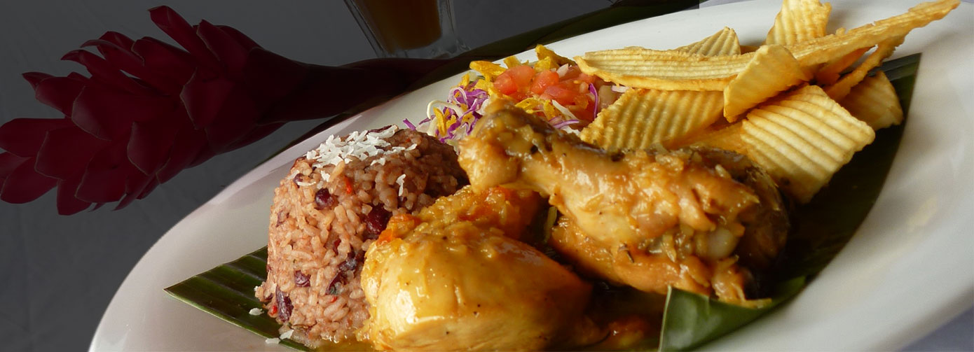 The Caribbean flavor comes to La Choza de Laurel!