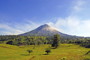 trip to the Arenal Volcano